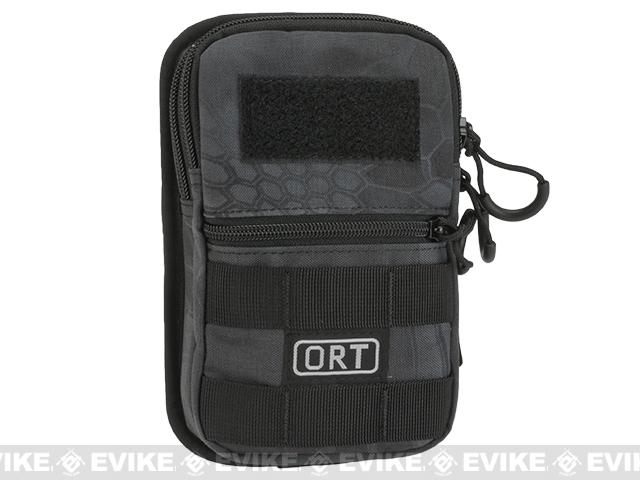 G&P ORT MOLLE Compatible Mobile Pouch - Black Camo
