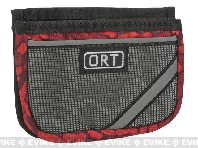 G&P ORT MOLLE Compatible Mobile Pouch - Red Camo