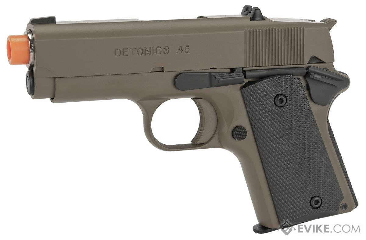 Pre-Order ETA June 2018 Matrix Elite Detonics 1911 .45 Combat Master Airsoft Gas Blowback Pistol (Model: Desert)