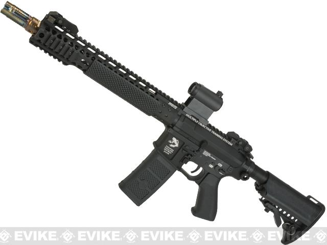G&P FRS Keymod M4 Carbine Airsoft Electric Recoil AEG Rifle (Package: Black / Add Battery + Charger)