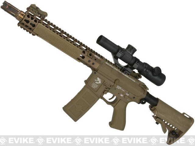 G&P FRS Keymod M4 Carbine Airsoft Electric Recoil AEG Rifle  (Package: Dark Earth / Gun Only)