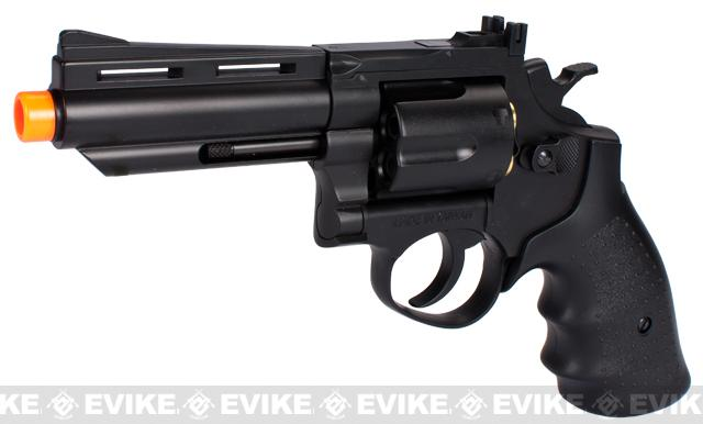 HFC 4 Bull Barrel Savage Bull Full Size Airsoft Gas Revolver (Color: Black)