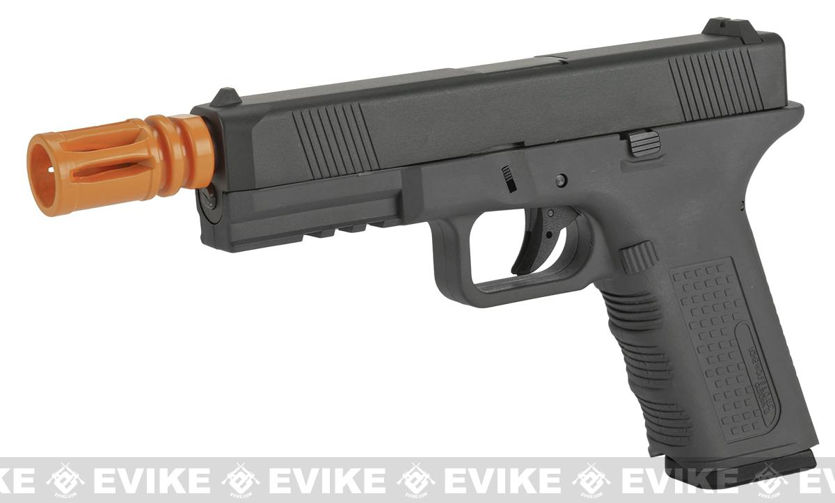 z Lone Wolf Licensed Gen 2 Full Metal Timberwolf Airsoft GBB Pistol by Echo1 - Black