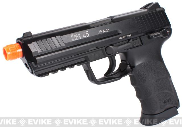 Bone Yard - Heckler & Koch Full Metal HK45 Airsoft GBB Pistol by KWA (Store Display, Non-Working Or Refurbished Models)