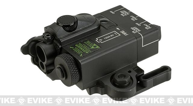 G&P Compact Dual Laser (Visible Red / Infrared) Designator - Black