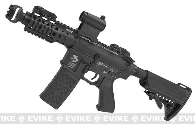 G&P M4 Rapid PDW Full Metal Airsoft AEG Rifle (Package: Black / Gun Only)