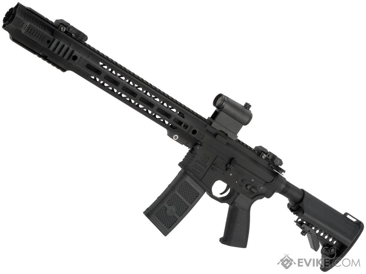 EMG / SAI GRY AR-15 AEG Training Rifle w/ JailBrake Muzzle w/ GATE ASTER Programmable MOSFET (Configuration: Carbine / Black Non-ITAR)