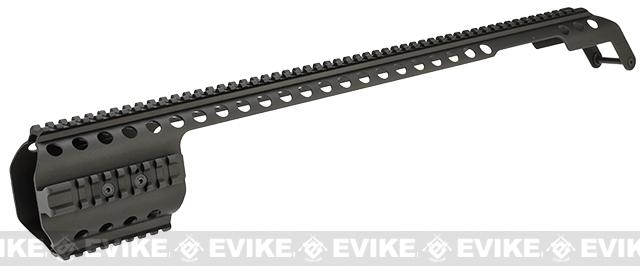 z G&P CNC Shotgun Receiver Rail for M870 Series Airsoft Shotguns