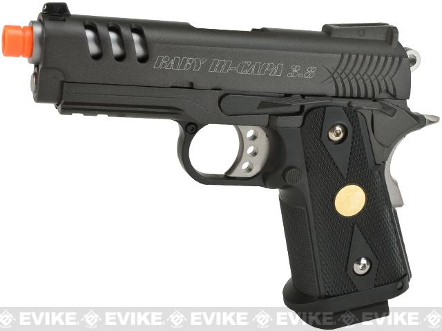 WE-Tech Full Metal 3.8 Inch 2011 Hi-Capa Airsoft Gas Blowback Pistol
