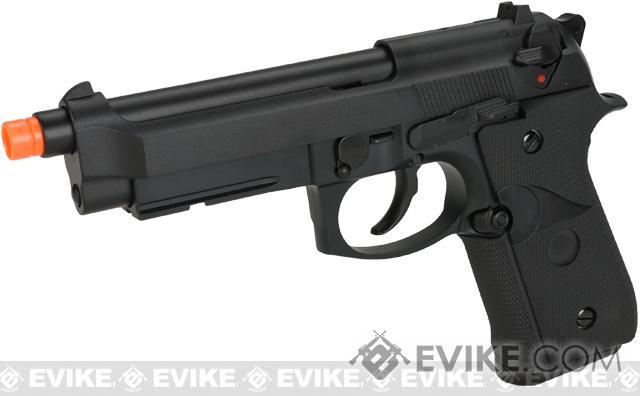 WE-Tech M9A1 Full Metal Gas Blowback Pistol (Color: Black)