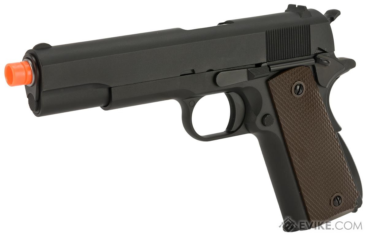 WE-Tech Full Metal 1911 GI Full Size Airsoft GBB Pistol (Color: Black)