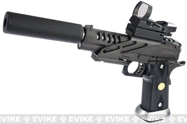 Evike.com Class I Custom ZOMBIE KILLER Hyper Speed HI-CAPA Full Metal Airsoft Gas Blowback