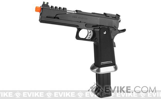 Phantom Custom WE USA CQB Super Alpha Airsoft GBB Gas Blowback Pistol w/ Extended Magazine