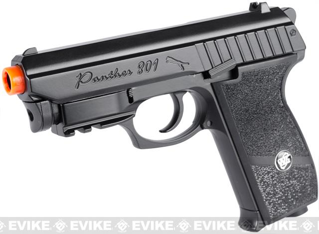 Bone Yard - WinGun Panther P-801 Full Metal Airsoft CO2 Gas Blowback Co2 GBB Pistol (Store Display, Non-Working Or Refurbished Models)