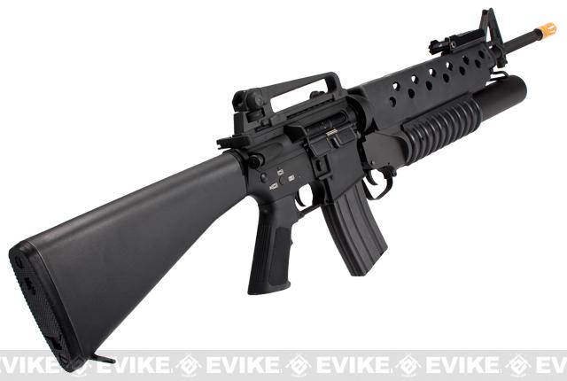 G Amp P Quot Scar Face Quot M16a3 Full Metal M16 Vn Airsoft Aeg Rifle
