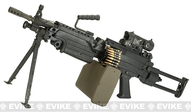 G&P M249 SAW Airsoft AEG Rifle with Collapsible Stock (Package: Para Version / Add Battery + Charger)