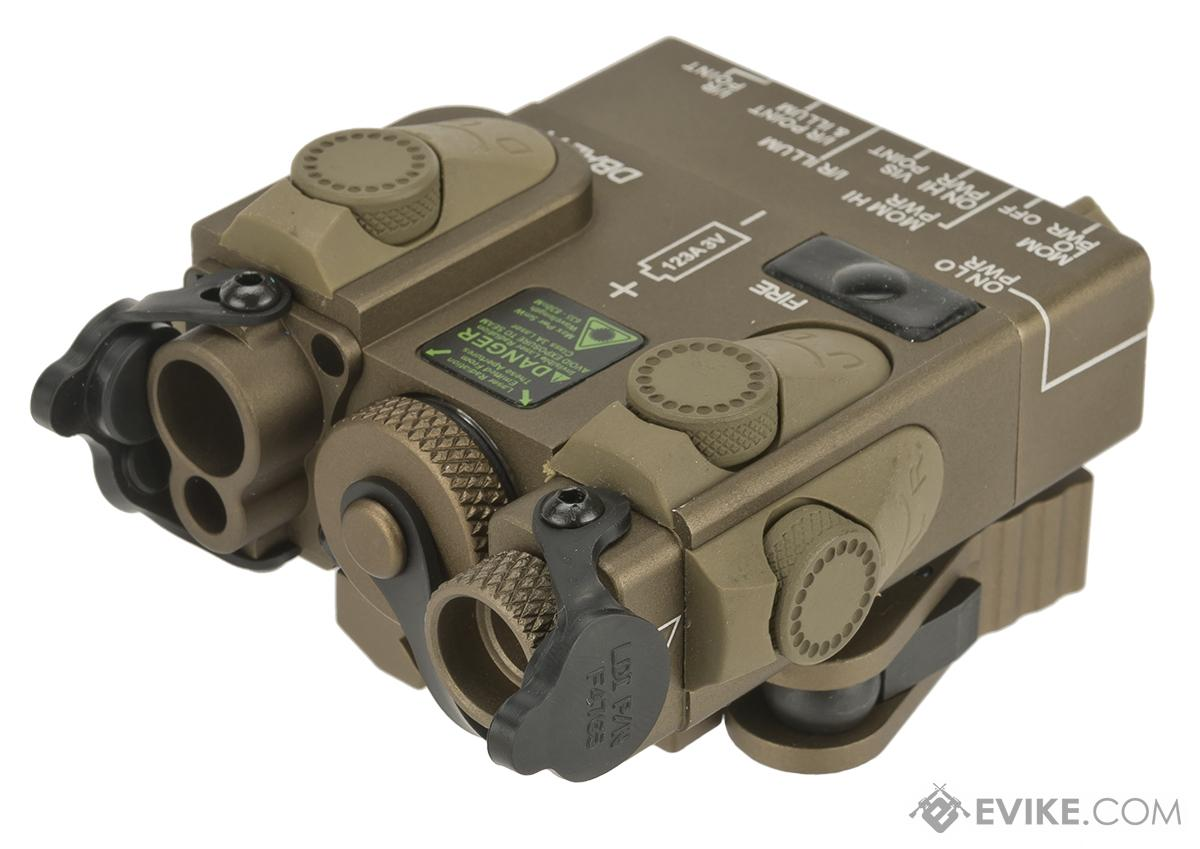 G&P PEQ GP959 Laser and Infrared Designator with IR Illuminator (Color: Tan)
