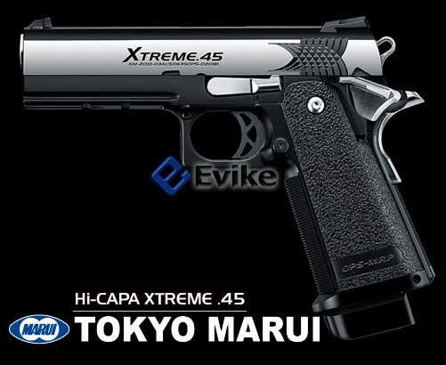 Pre-Order ETA March 2018 Tokyo Marui Hi-CAPA Xtreme .45 Full Size Full Automatic Airsoft Gas Blowback Pistol