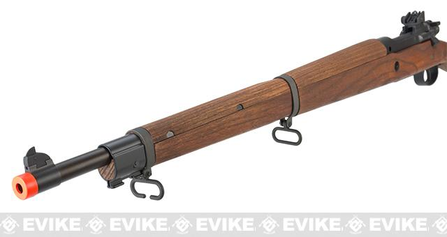 G&G Top Tech GM1903 A3 Airsoft Green Gas / Co2 Gas Rifle with Real Wood  Furniture