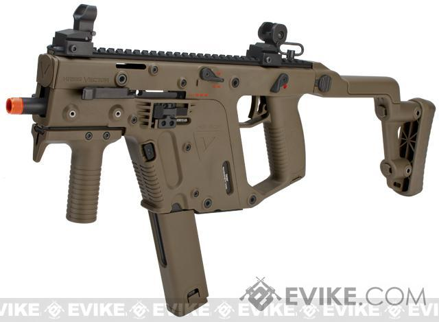 KRISS Vector Full Size Airsoft GBB SMG by KWA - Dark Earth