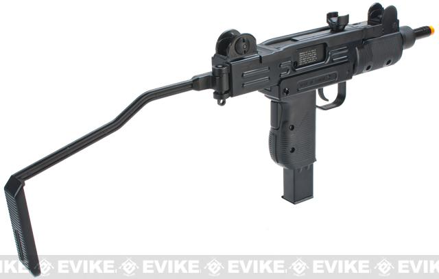 KWC CO2 Powered Airsoft Full Size Hard Kick UZI GBB Submachine Gun