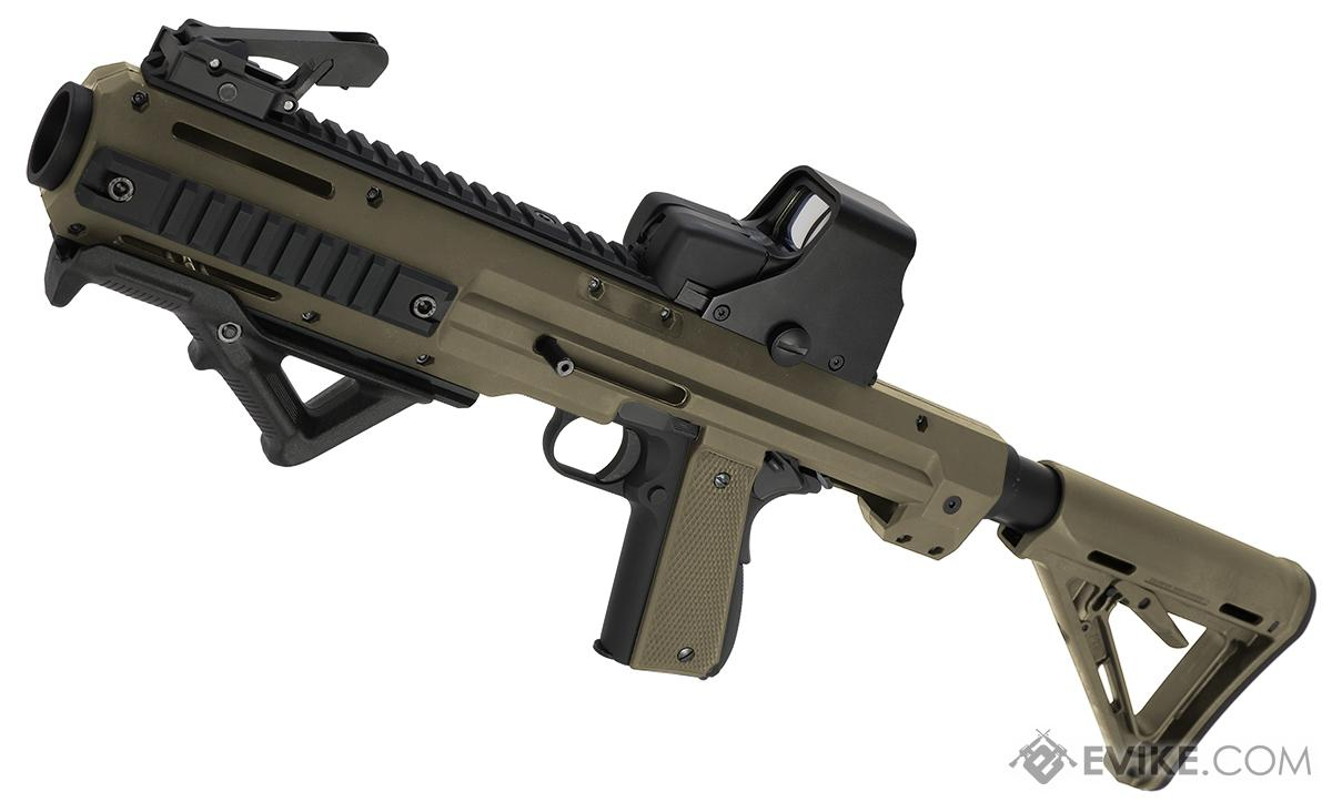 Matrix MEU Carbine Rapid Deployment Series Airsoft Rifle (Color: Dark Earth)