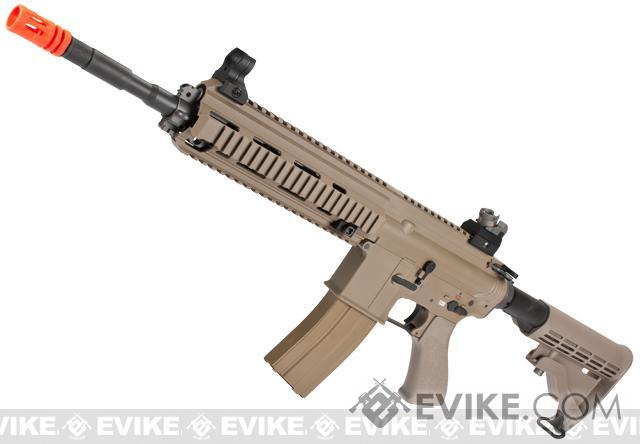 WE-Tech Open Bolt M4-SOL Carbine Airsoft GBB Rifle (Color: Dark Earth)