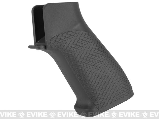 G&P Snake Skin Pistol Grip for M4 / M16 Series Airsoft AEG Rifles (Color: Black)