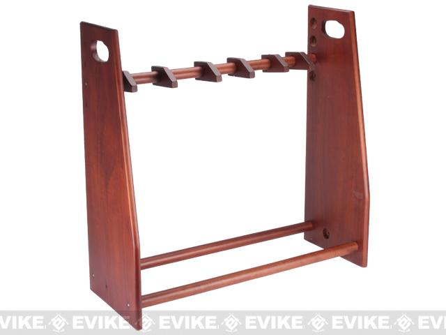 Matrix Deluxe Professional Solid Wood Rifle / Gun Rack