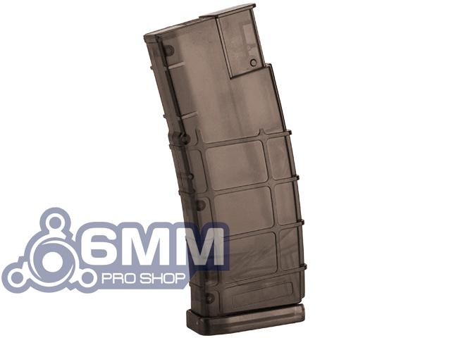 6mmProShop 500 Round Rifle Mag Size Airsoft Universal BB Speed Loader (Color: Brown)