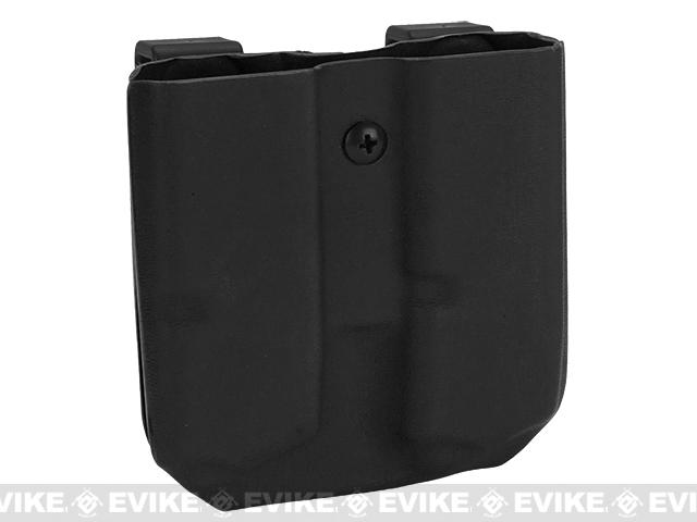 KAOS Concealment Custom Kydex Pistol Magazine Holster - 9mm and .40cal (Color: Black)