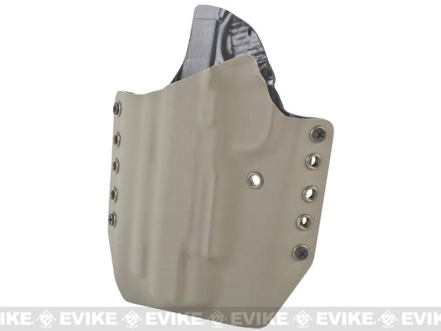 KAOS Concealment Kydex Belt / MOLLE Holster - WE TM KWA 1911 (Left / Dark Earth)