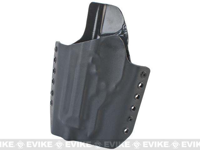 KAOS Concealment Custom Kydex Holster - KWA M93R / Left / Black