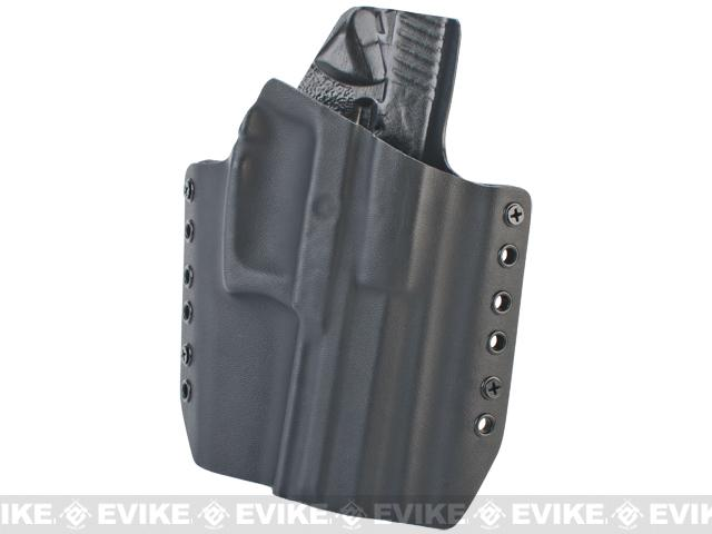 KAOS Concealment Belt / MOLLE Kydex Holster (Model: KWA USP MK23 / Black / Right Hand)