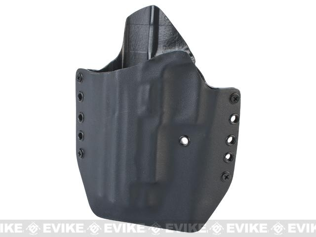 KAOS Concealment Kydex Belt / MOLLE Holster - KWA P226 (Left / Black)