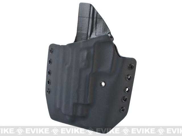KAOS Concealment Belt / MOLLE Kydex Holster (Model: WE-Tech P-Virus / Black / Right Hand)