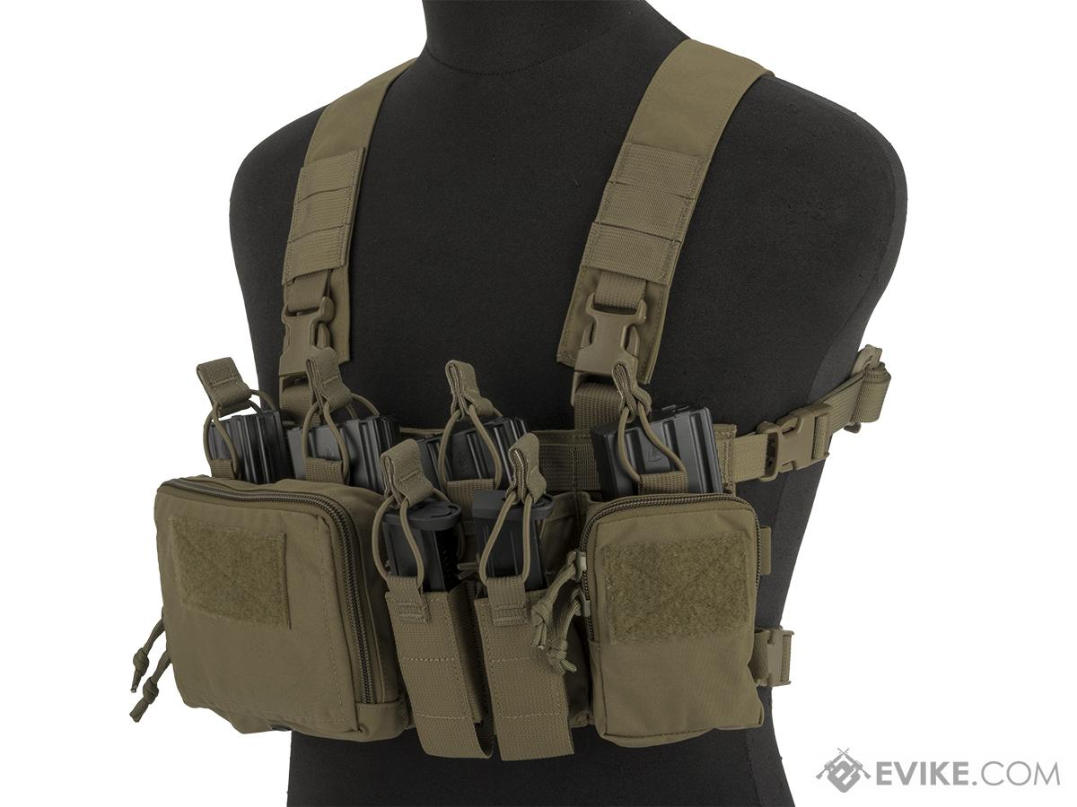 Haley Strategic HSP Disruptive Environments Chest Rig D3CR-X Heavy (Color: Coyote)