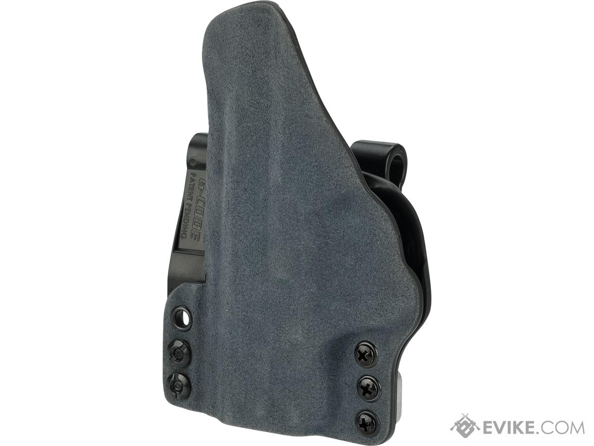 Haley Strategic INCOG IWB Holster System with Full Guard by G-Code (Color: Slate Blue / M&P Shield)