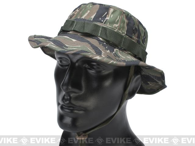 Matrix Lightweight Rip Stop Jungle Boonie Hat (Color: Tiger Stripe / X-Large)