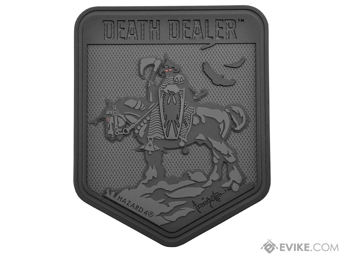 Hazard  4 Death Dealer by Frank Frazetta Patch (Color: Black)