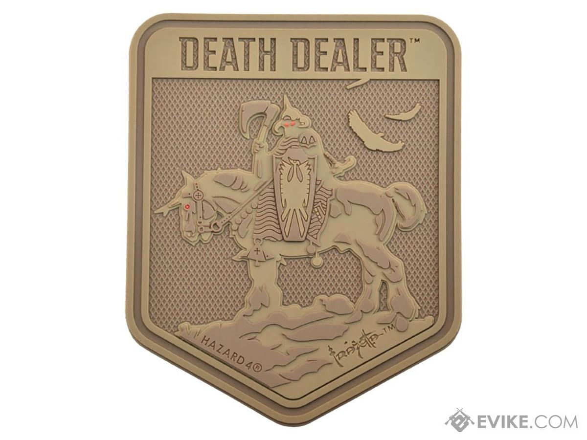 Hazard 4 Death Dealer by Frank Frazetta Patch (Color: Coyote)