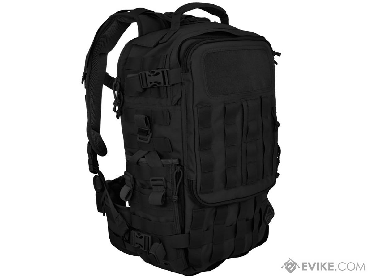 Hazard 4 Second Front Rotatable Backpack (Color: Black)