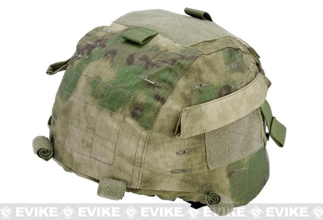 Matrix Helmet Cover for MICH 2000 Airsoft Helmet - Arid Foliage
