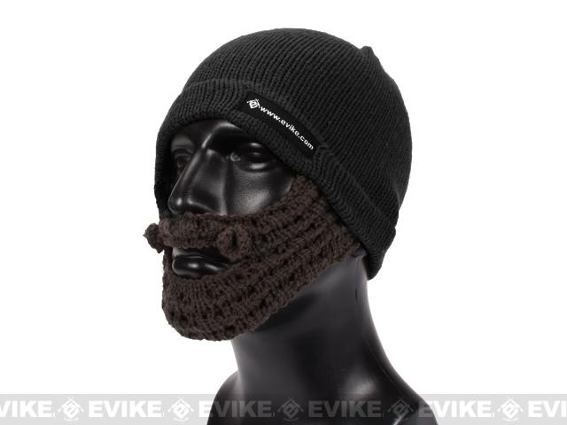 Evike.com Tactical Beard Beanie (Color: Black / Brown)