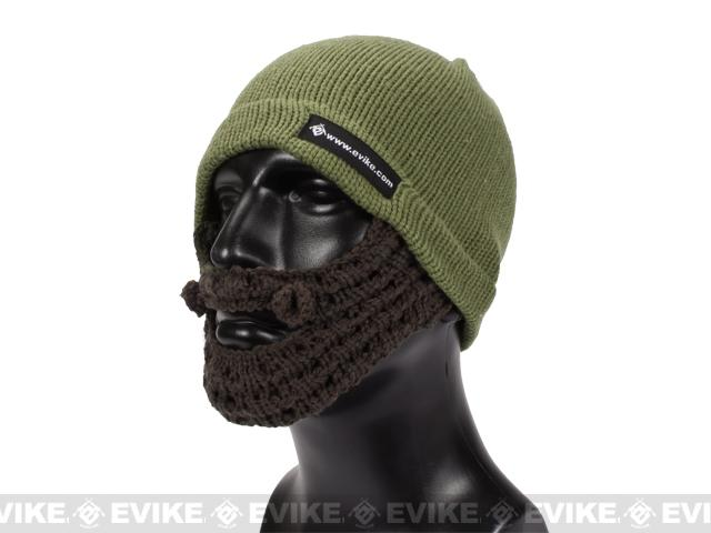 Evike.com Tactical Beard Beanie (Color: Dark Earth / Brown)