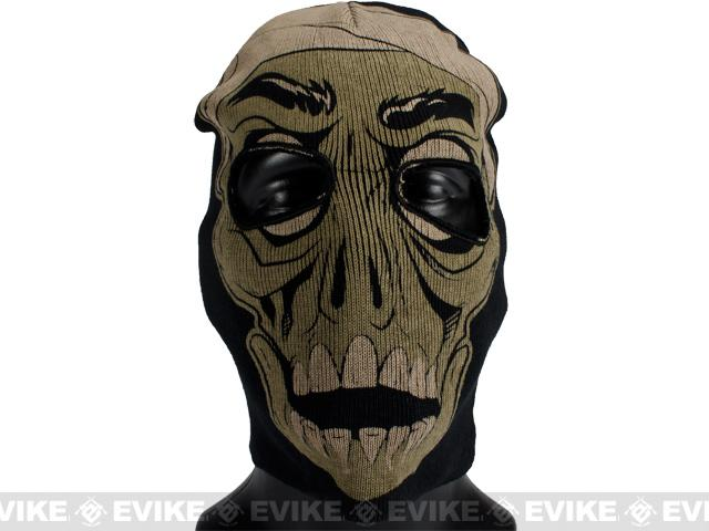 z Matrix Mummy Face II Balaclava / Hood