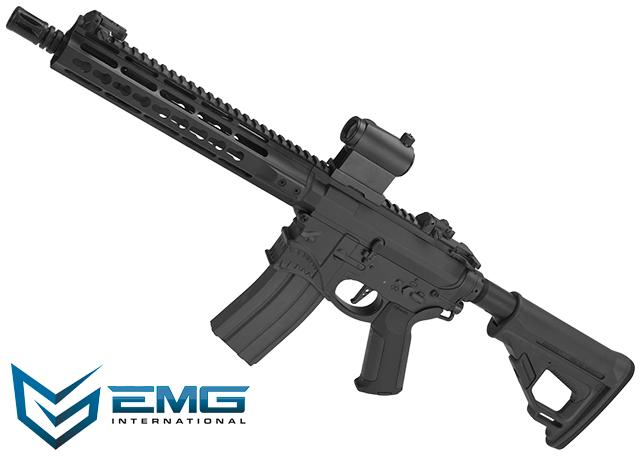 EMG / Sharps Bros Hellbreaker Licensed Full Metal Advanced M4 Airsoft AEG Rifle (Color: Black / 10 SBR)