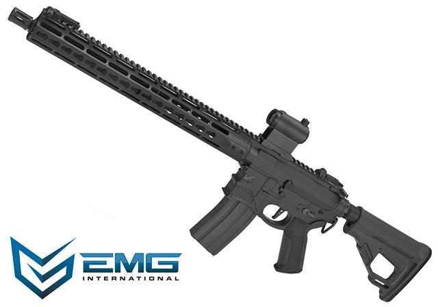 (10 MAGAZINE BUNDLE DEAL) EMG / Sharps Bros Hellbreaker Licensed Full Metal Advanced M4 15 Carbine Airsoft AEG Rifle (Black)