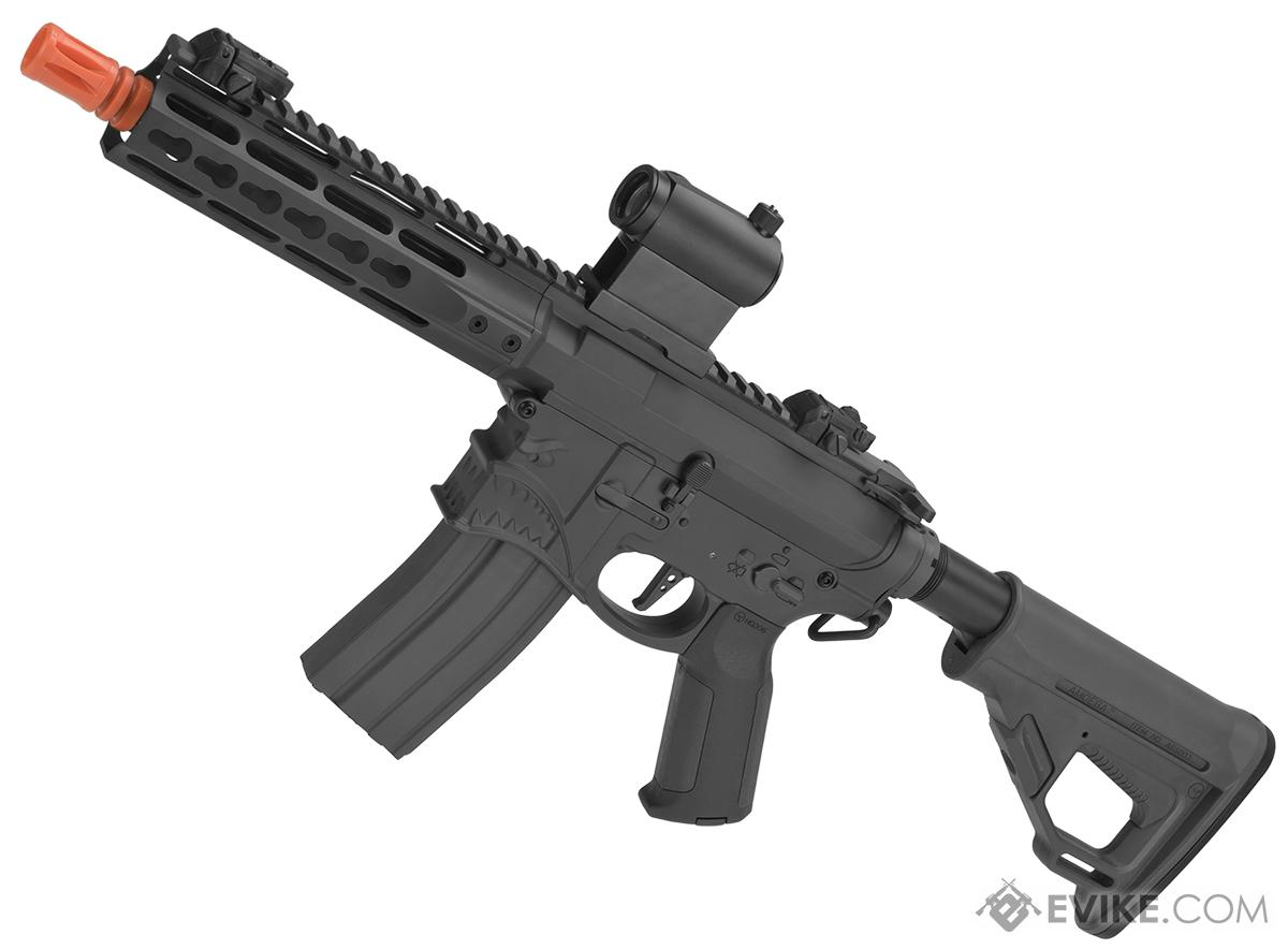 EMG / Sharps Bros Hellbreaker Licensed Full Metal Advanced M4  Airsoft AEG Rifle (Color: Black / 7 SBR)