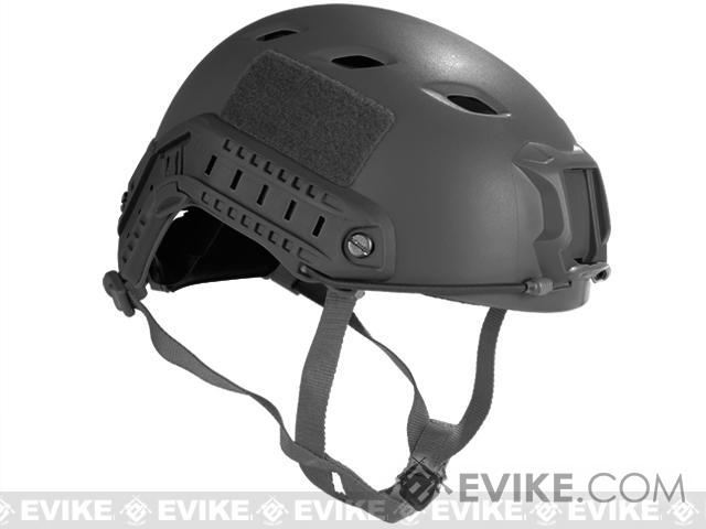 Emerson Bump Type Tactical Airsoft Helmet (BJ Type / Advanced / Black / Medium - Large)
